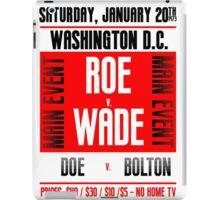 Roe v. Wade iPad Case/Skin
