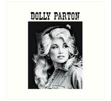Dolly Parton Young Art Print
