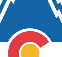 Colorado Rockies Hockey Sticker