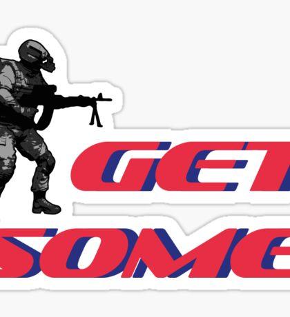Get some by #fftw Sticker