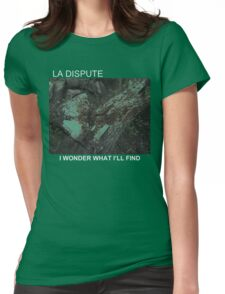 LA DISPUTE CHOPPED TREE Womens Fitted T-Shirt