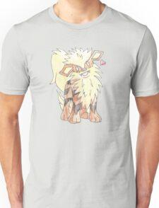 Arcanine Watercolour Unisex T-Shirt