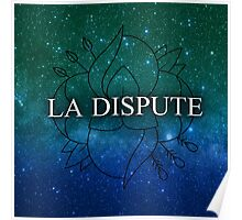 La Dispute Teal Space logo Poster