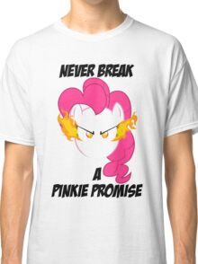 Never Break a Pinkie Promise (BLACK TEXT) Classic T-Shirt