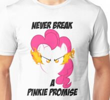 Never Break a Pinkie Promise (BLACK TEXT) Unisex T-Shirt