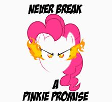 Never Break a Pinkie Promise (BLACK TEXT) Unisex T-Shirt