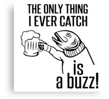Drinking Fish Canvas Print