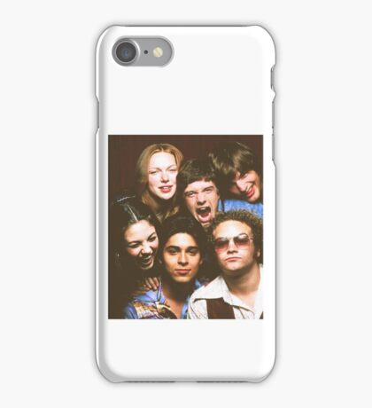 That '70s Show Cast iPhone Case/Skin