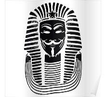 Pharaoh V For Vendetta Poster