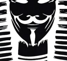 Pharaoh V For Vendetta Sticker