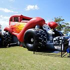 Monster Jumping Car-stle,Catalina Festival,Rathmines,Australia 2015 by muz2142