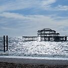 Brighton West Pier by Sue Robinson