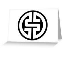 $ Logotype 02 2012 NO BACKGROUND Greeting Card