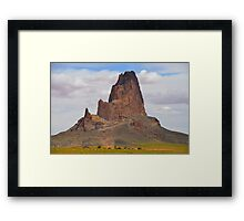 Agatha Peak  Volcano - El Capitan in Arizona, USA Framed Print