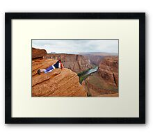 Horseshoe Bend in Arizona, USA Framed Print
