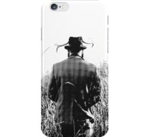 Man with Antlers iPhone Case/Skin