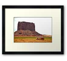 Monument Valley in Arizona, USA Framed Print