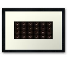 Chocolate pussies galore Framed Print