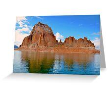 Lake Powell in Page, Arizona USA Greeting Card