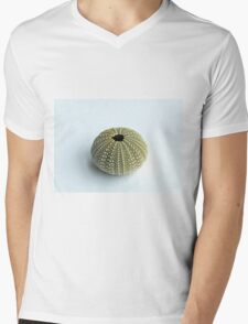 Sea Urchin Shell Mens V-Neck T-Shirt