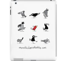 out with the in crowd / oneredbird iPad Case/Skin