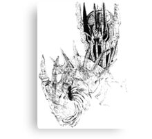 Sauron art Canvas Print