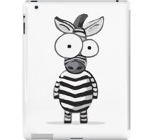 Cute Zebra iPad Case/Skin