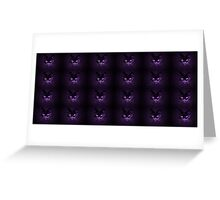Purple pussies galore Greeting Card