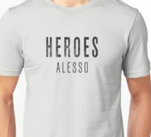 ALESSO HEROES LOGO Unisex T-Shirt