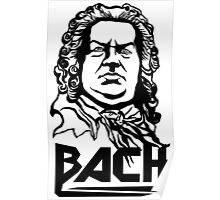Metal Bach (black) Poster