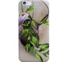 purple freesia buds iPhone Case/Skin