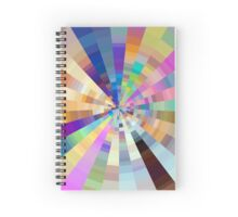 diamond rainbow.  Spiral Notebook