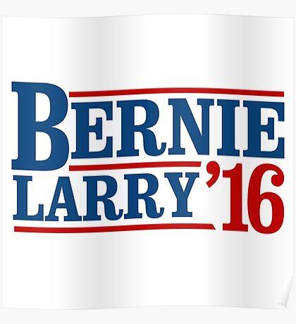 Bernie / Larry 2016 Poster