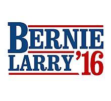 Bernie / Larry 2016 Photographic Print