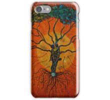 Fractal Cells, Life Force Energy  iPhone Case/Skin