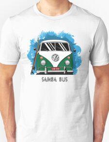VW T1 Samba Bus (green) T-Shirt