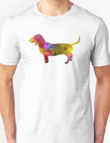 Artesian Norman Basset in watercolor T-Shirt
