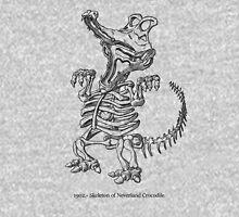 Tick Tock Croc Skeleton Unisex T-Shirt