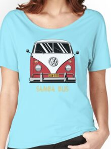 VW T1 SambaBus (red) Women's Relaxed Fit T-Shirt