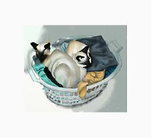 Cats Helping with the Washing Unisex T-Shirt