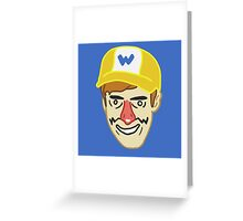 Wario (badbones) Greeting Card
