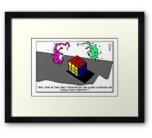 """Cubism"" --The Quick And The Dead Framed Print"
