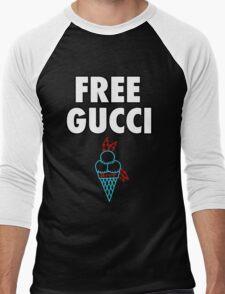 FREE GUCCI Men's Baseball ¾ T-Shirt