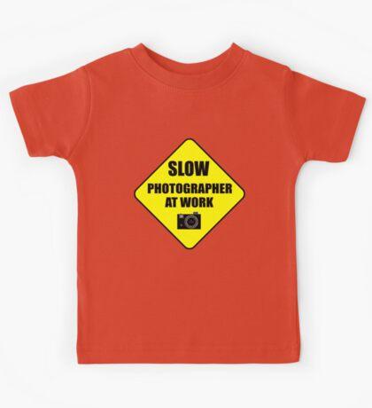slow photographer Kids Tee