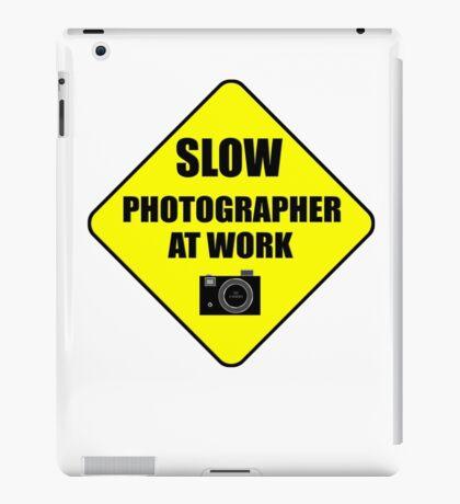 slow photographer iPad Case/Skin