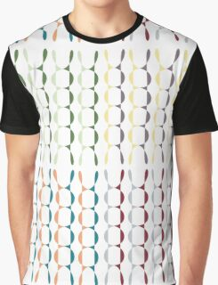 Funny colorful abstract Graphic T-Shirt