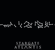 Stargate Atlantis Address by AFFPrints