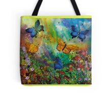 Butterfly - Triptych Tote Bag