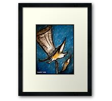 Dandy Fox: Rain Walk Framed Print