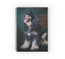 Fred the Dog Spiral Notebook
